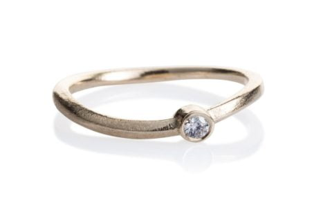 Kaprifol Ring Gold Diamond