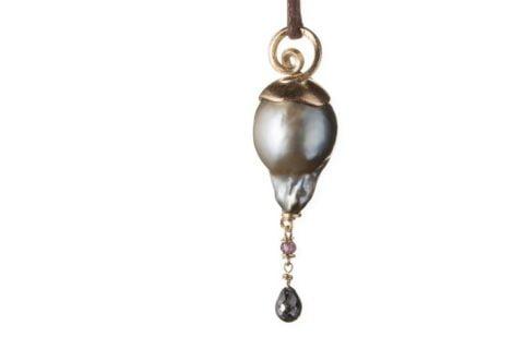 Spiral Necklace Gold Tahiti